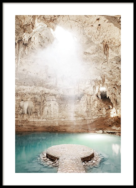 Cenote Underground Poster in the group Posters & Prints / Studio Collections / Studio Azur at Desenio AB (14519)