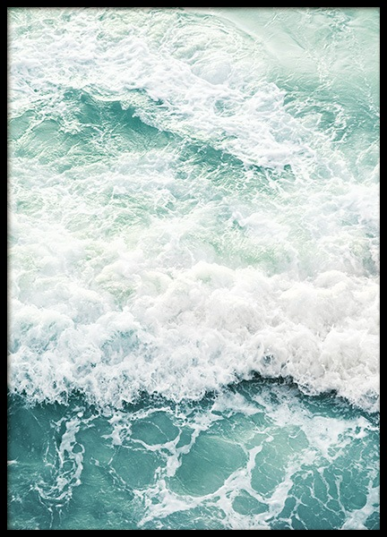 Foamy Ocean Poster in the group Posters & Prints / Studio Collections / Studio Azur at Desenio AB (14520)