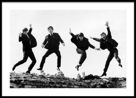 The Beatles Poster in the group Posters & Prints / Iconic photos at Desenio AB (14625)