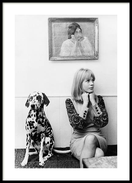 Marianne Faithful Poster in the group Posters & Prints / Iconic photos at Desenio AB (14629)