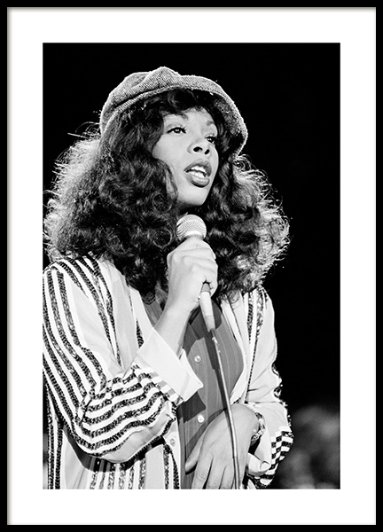 Donna Summer Poster in the group Posters & Prints / Iconic photos at Desenio AB (14630)