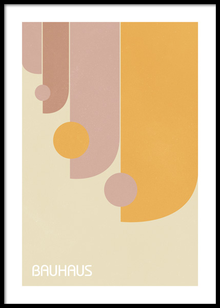 Colorful Bauhaus No1 Poster in the group Posters & Prints / Art prints at Desenio AB (14669)