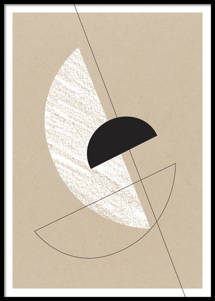 Bauhaus Graphics No2 Poster in the group Posters & Prints / Art prints at Desenio AB (14672)