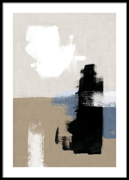 Abstract Brushes No2 Poster in the group Posters & Prints / Art prints at Desenio AB (14770)