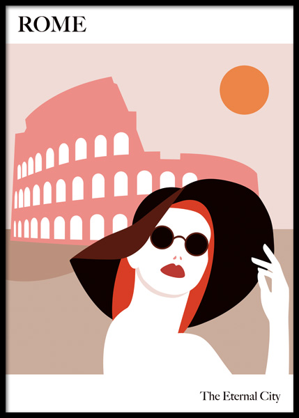 The Eternal City Poster in the group Posters & Prints / Graphical at Desenio AB (14775)
