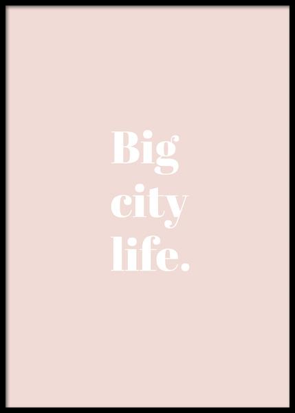 Big City Life Poster