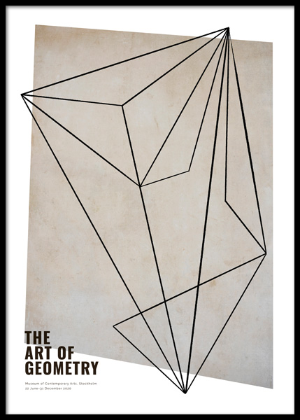 The Art of Geometry Poster in the group Posters & Prints / Art prints at Desenio AB (14796)