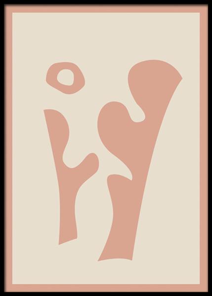 Sculptural No2 Poster