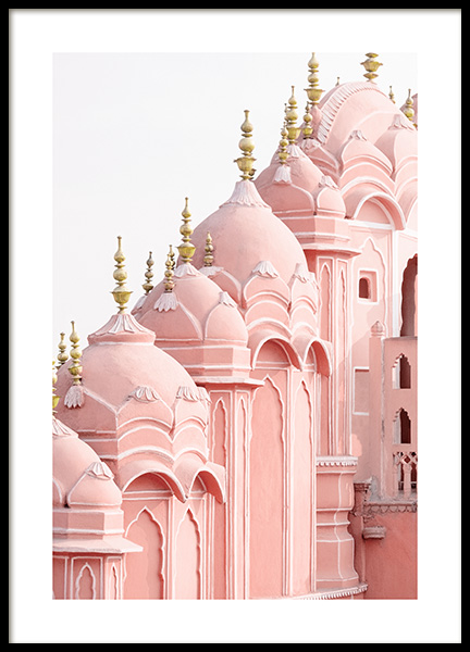 Hawa Mahal Palace Poster in the group Posters & Prints / Photography / Architecture  at Desenio AB (14822)