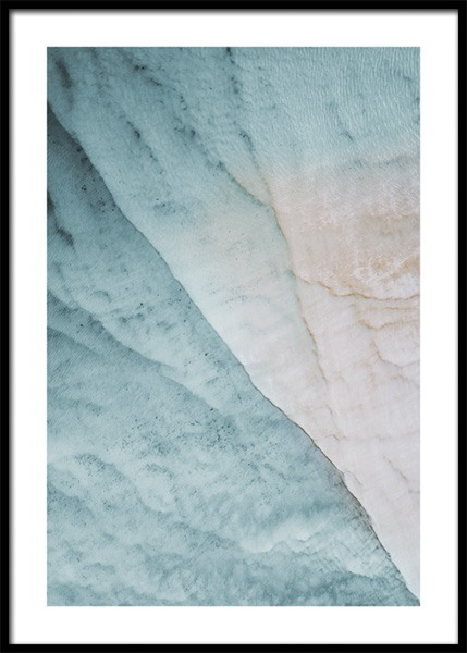 Water Texture Poster