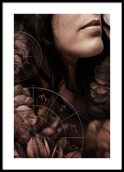 Spiritual Woman Poster