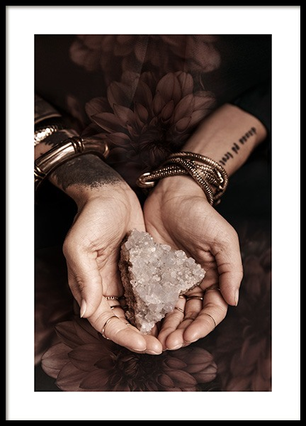 Healing Crystal Poster