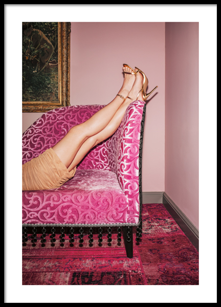 High Heels Up Poster