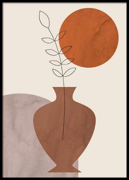 Provance Pottery Poster