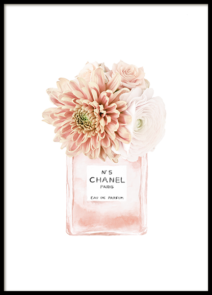 Scent of Flowers No3 Poster