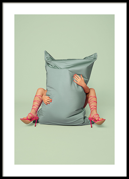 Behind the Pillow Poster