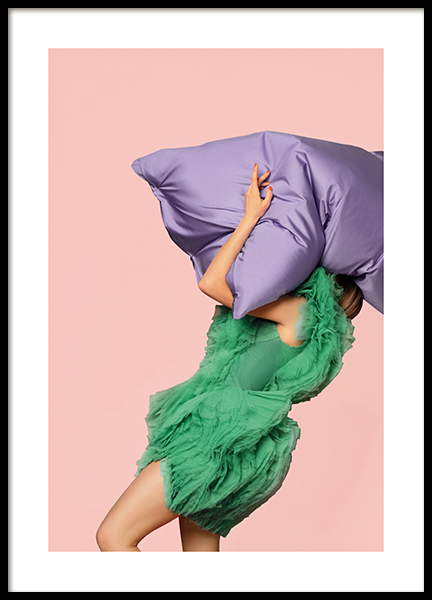 Giant Pillow Poster