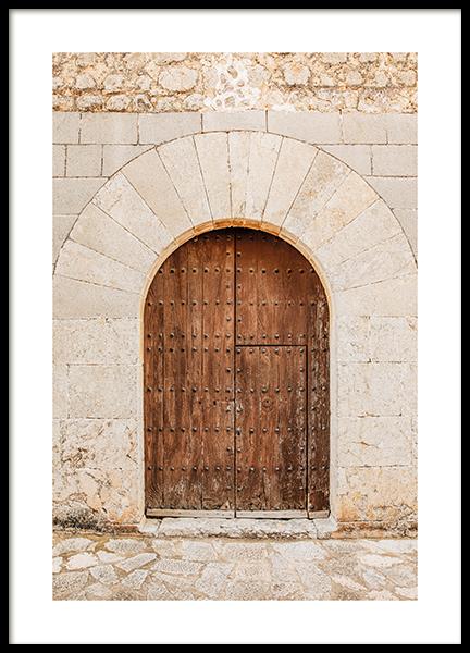 Mallorca Door Poster