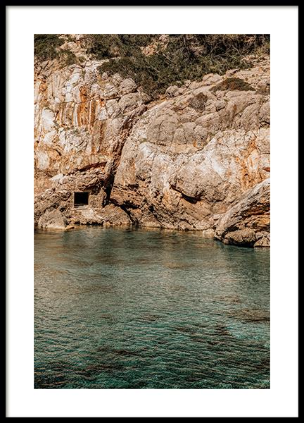 Calm Bay Poster