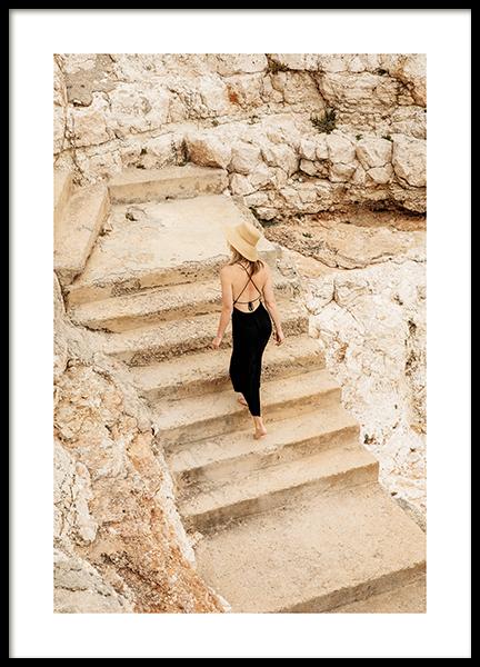 Cliff Walking Poster
