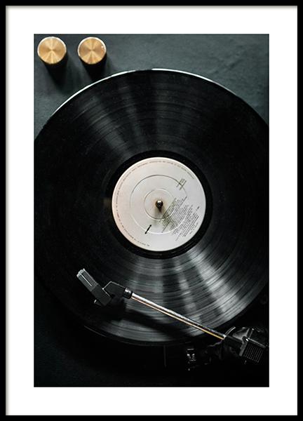 Black Record Poster