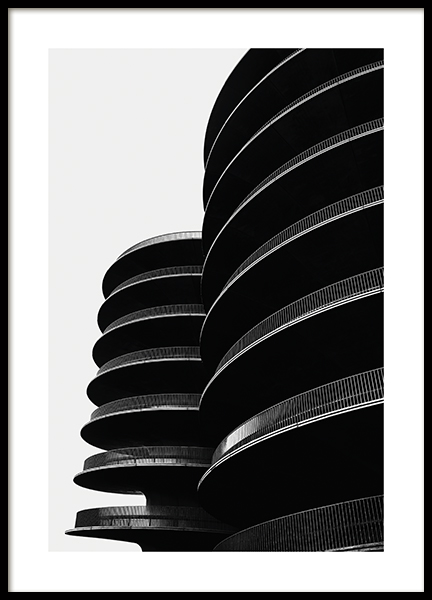 Black Towers Poster