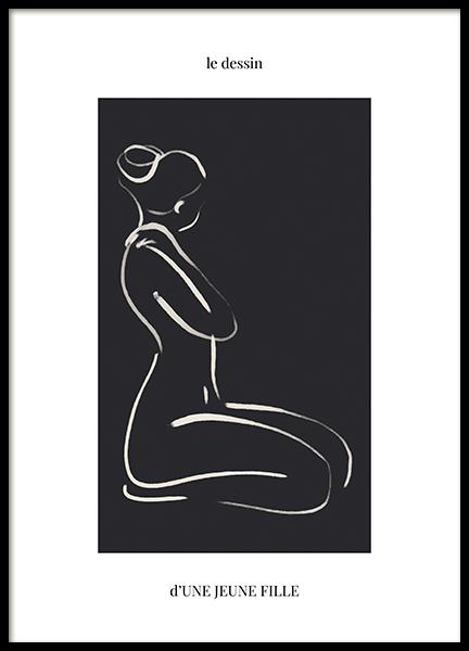 Une Jeune Fille Poster