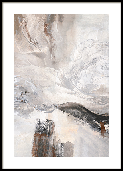 Contemporary Abstract No1 Poster