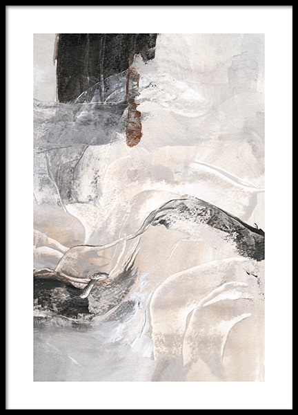 Contemporary Abstract No2 Poster