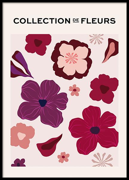 De Fleurs No1 Poster