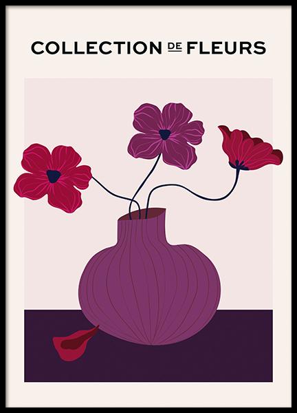 De Fleurs No2 Poster