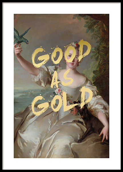 Good as Gold Poster