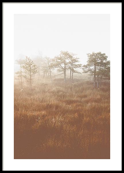 Tranquil Landscape Poster