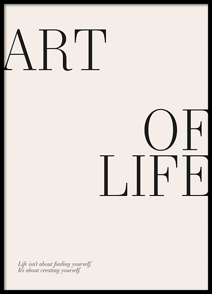 Art of Life Poster