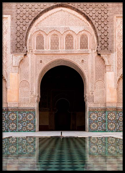 Marrakech Facade Poster in the group Posters & Prints / Photography at Desenio AB (2013)