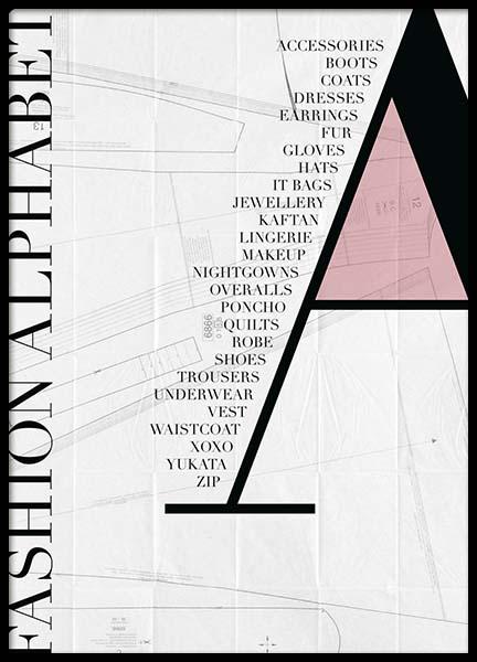 Fashion - A Poster
