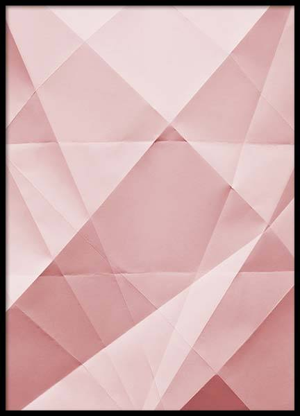 Paper Pink No3  Poster in the group Posters & Prints / Graphical at Desenio AB (2225)