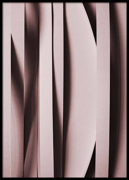 Pink Stripes  Poster in the group Posters & Prints / Photography at Desenio AB (2245)