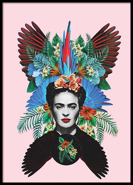 Frida Kahlo Poster in the group Posters & Prints / Art prints at Desenio AB (2371)