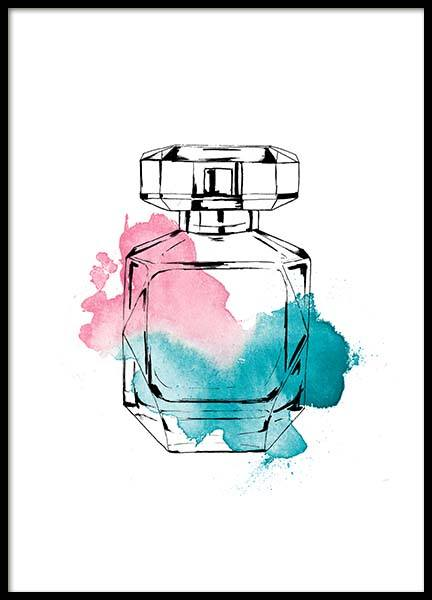 Perfume Color Three Poster in the group Posters & Prints / Fashion at Desenio AB (2586)