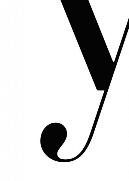 Letter Y Poster in the group Posters & Prints / Text posters at Desenio AB (2638)