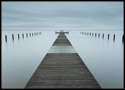 Misty Jetty Poster in the group Posters & Prints / Nature at Desenio AB (2670)