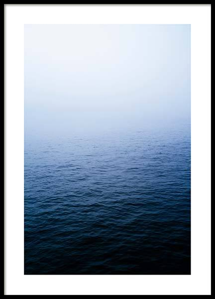 Misty Ocean Poster in the group Posters & Prints / Nature at Desenio AB (2705)