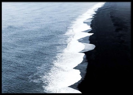 Black Sand Poster in the group Posters & Prints / Nature at Desenio AB (2717)