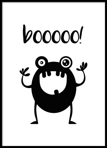 Boo Poster in the group Posters & Prints / Kids posters at Desenio AB (2798)