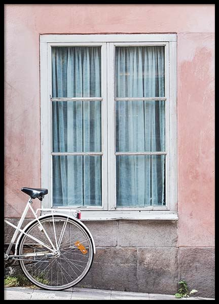 Stockholm Window Poster in the group Posters & Prints / Photography at Desenio AB (2878)