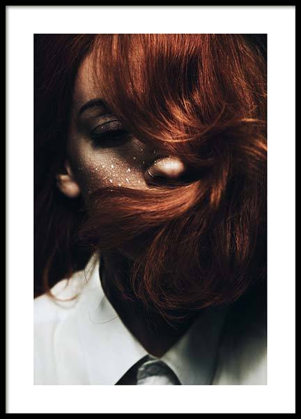 Red Hair Poster in the group Posters & Prints / Photography at Desenio AB (2963)
