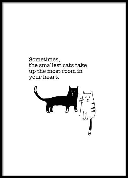 The Smallest Cats Poster in the group Posters & Prints / Kids posters at Desenio AB (3116)