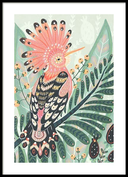 The Hoopoe Poster in the group Posters & Prints / Art prints at Desenio AB (3204)