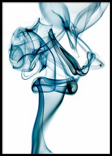 Blue Smoke Poster in the group Posters & Prints / Art prints at Desenio AB (3280)